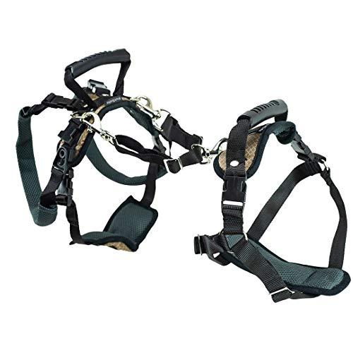 PetSafe Arnés de soporte CareLift - Ayuda para levantar el cuerpo completo con asa, Excelente para la movilidad de mascotas y perros mayores, Material cómodo y transpirable, Fácil de ajustar-Mediano