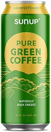 Sunup Pure Green Coffee, Unsweetened, Made Smooth & Strong From Raw