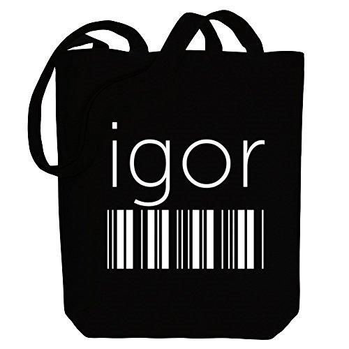 Idakoos Idakoos Male Tote barcode Igor Igor barcode Male Bag Names Canvas qBZxgw