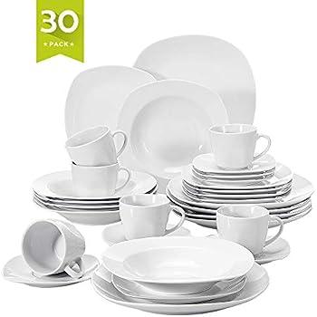 ca592e48a7d7b Malacasa 30 Piece Porcelain Dinnerware Set