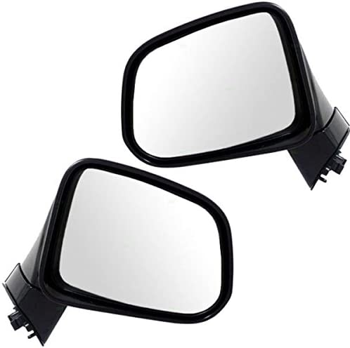 08-13 Lancer Power Non-Heated Folding Rear View Mirror Left Right Side PAIR SET