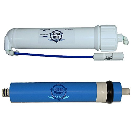 - KleenWater Aqua-Pure AP5500RM Compatible Reverse Osmosis Membrane Module with Housing and Accessory Fittings