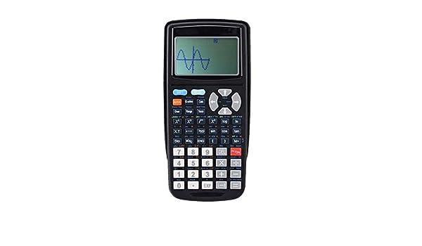 LULUDP Calculadora Calculadora Examen científico Plotter Función científica Calculadora gráfica de programación Pantalla de 10 + 2 dígitos Pantalla LCD de alta resolución Función financiera del estudi: Amazon.es: Hogar