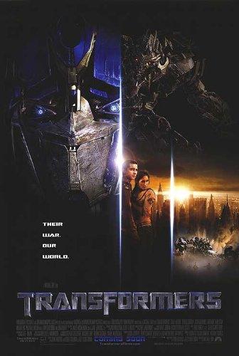 "Transformers - Authentic Original 27"" x 40"" Movie Poster"
