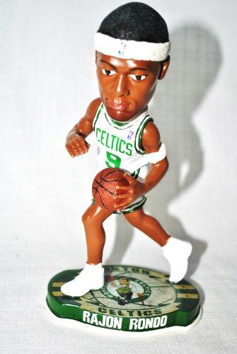 (Forever Collectibles Boston Celtics Rajon Rondo #9 official NBA Home Bobblehead)