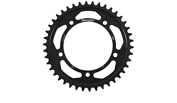 Supersprox RFE-1350-38-BLK Rear Steel Sprocket Black For Honda TRX 450 R 04 05 06 07 08 09 TRX 700 XX 08 09