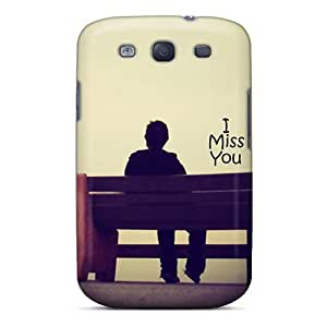 Tpu Fashionable Design Miss U Rugged Case Cover For Galaxy S3 New by icecream design