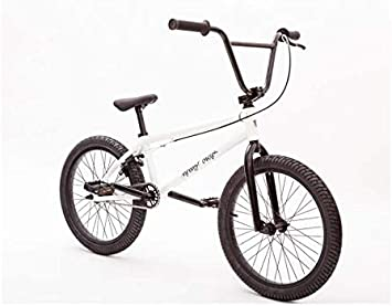 GASLIKE Bicicletas BMX para Hombres y Mujeres, Bicicletas con Ruedas de 20 Pulgadas, Cuadro de Acero con Alto Contenido de Carbono y agarres Tipo U, 9 × 25T Gear Drive: Amazon.es: Deportes