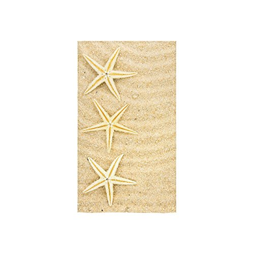 InterestPrint Seashells Starfish Hawaii Summer Sand Beach Se