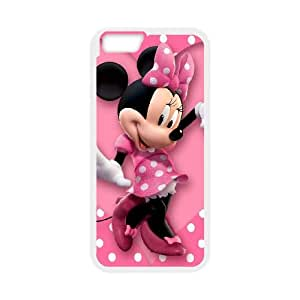 iPhone 6 4.7 Inch Cell Phone Case White Micky-Mouse Phone Case Hard CZOIEQWMXN21020