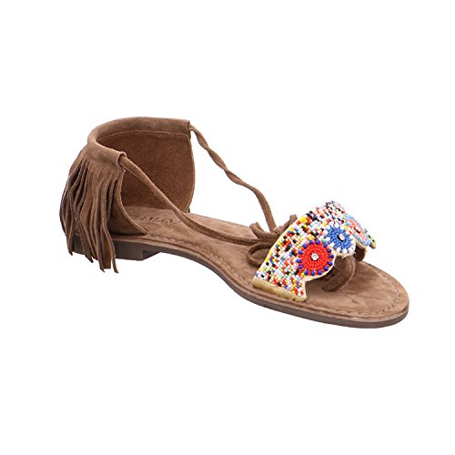 75 Multi Taupe Lazamani sandalias 469 para mujer de moda TfdfqwnvC