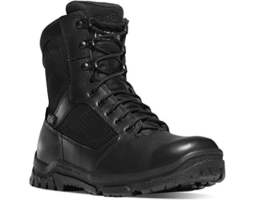 "Danner Men's Lookout Side-Zip 8"" Black Military & Tactical Boot, 13 2E US"