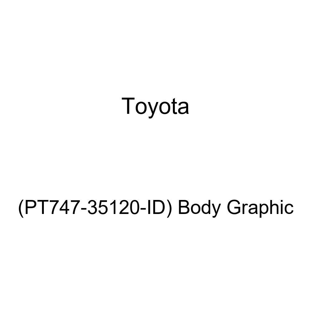 PT747-35120-ID Toyota Genuine Body Graphic