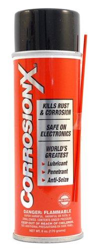 CorrosionX Lubricant and Penetrant 6 oz. Corrosion Technologies Corporation X-90101