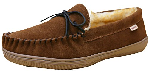 Tamarac by Slippers International 7161 Men's Camper Moccasin,10 D(M) US,Allspice