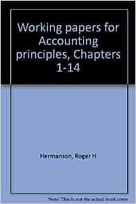 Accounting Principles, 13th Edition