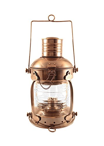 Vermont Lanterns Brass Anchor Lamp - Ship Lantern (15