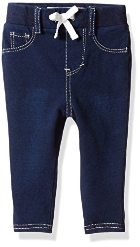 Levi's Girls' Baby Rib Waistband Knit Legging, Indigo Night, 24 Months (Baby Levi Jeans Girls)