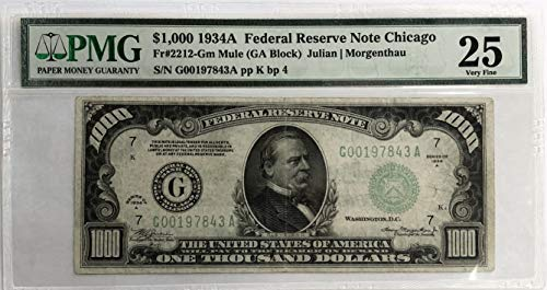 Dollar Federal Reserve Note - 1