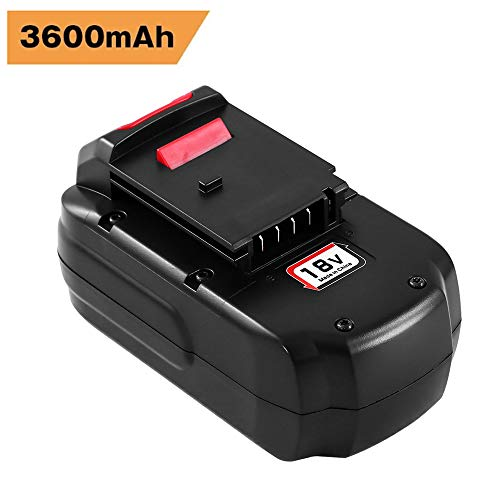 Upgraded 3600mAh Replacement for Porter Cable 18V Battery PC18B PCC489N PCXMVC Cordless Power Tool