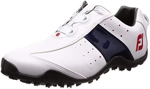 ゴルフシューズ EXL SPIKELESS Boa メンズ ホワイト/ネイビー(18) 26.5 cm 3E 45181J E