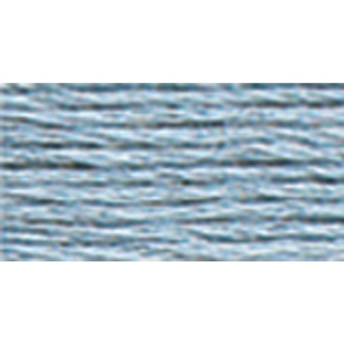 DMC 117-932 6 Strand Embroidery Cotton Floss, Light Antique Blue, 8.7-Yard (Floss Dmc Antique)