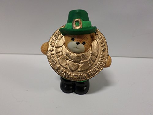 Lucy & Me Series (Enesco) **Bear Dressed as Gold Coin Figurine** 157473