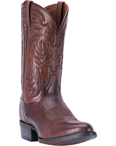 Dan Post Round Boots - Dan Post Men's Centennial Chocolate Western Boot Round Toe Chocolate 8.5 D
