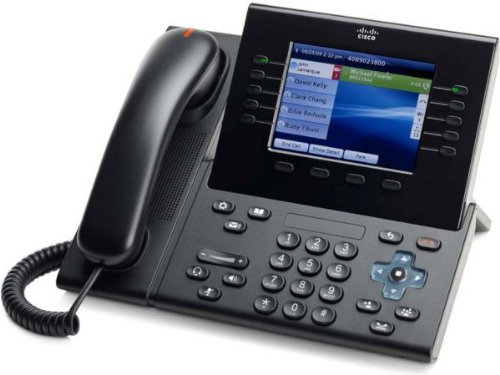 Cisco CP-9951-C-K9 VOIP Phone - PoE, Requires Cisco Call Manager (Renewed) ()