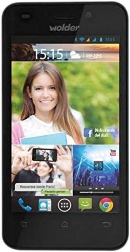 Wolder miSmart SMILE w1:) - Smartphone libre de 4 (IPS, Dual SIM, Dual Core de 1.2 GHz, 512 MB de RAM, 4 GB, 8 MP, Android 4.2, incluye funda): Amazon.es: Electrónica