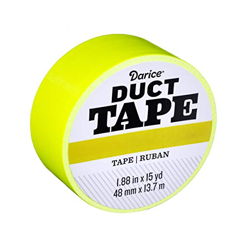 Darice 30079661 Roll: Fluorescent Citrus, 1.88 Inches x 15 Yards Duct Tape,