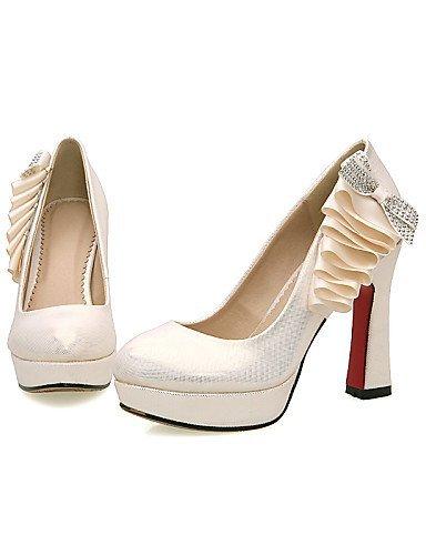 Absätze 3 Gold golden 4in ShangYi Hochzeit Hochzeitsschuhe Heels High Schuh Festivität 4 Kleid Mädchen Schwarz Damen 4in Büro amp; Party wxIAqR