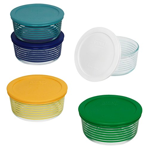 Lid Pattern (Pyrex 1125925 10 Piece Simply Store
