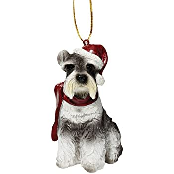 Design Toscano Christmas Ornaments - Xmas Miniature Schnauzer Holiday Dog  Ornaments - Christmas Decorations - Amazon.com: Design Toscano Christmas Ornaments - Xmas Miniature