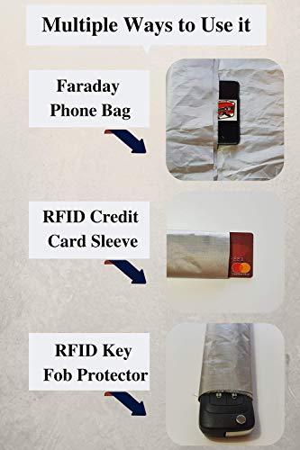EMP Cloth:180'' by 42.5''.Protect Your Generator Form The Effects of an EMP or CME; RFID Blocking Cloth; EMP Protection Device; EMF Shielding; Power Generator Protection; Military Grade EMP Protection; by Claude Davis (Image #2)
