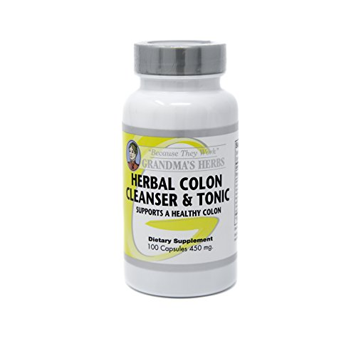 Herbal Colon Cleanser All Natural Toxin Bowel Cleanse 100 Caps (1)