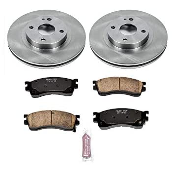Autospecialty KOE6306 Daily Driver 1-Click OE Replacement Front Brake Kit