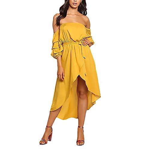 25757a23211f El servicio durable Vestido Mujer Largo Primavera Verano Elegantes ...