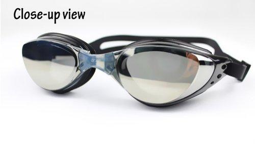 Ispeed Mirror Pro Swim Goggle (Black)