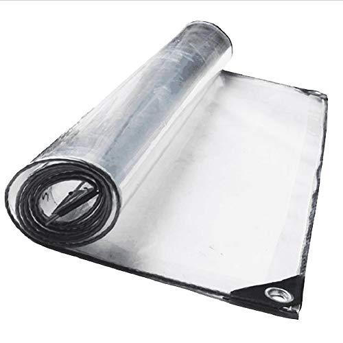 MSNDIAN Transparente Planenanlage verschüttete transparente Plane Zelt Tuch Tuch Autowaschraum Vorhang Outdoor-Sportartikel