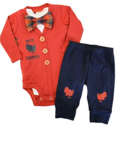 Baby Boys Thanksgiving Outfit My First Thanksgiving Bodysuit