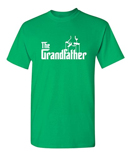 The Grandfather Gift for Dad Fathers Day Mens Novelty T Shirt M Irish ()