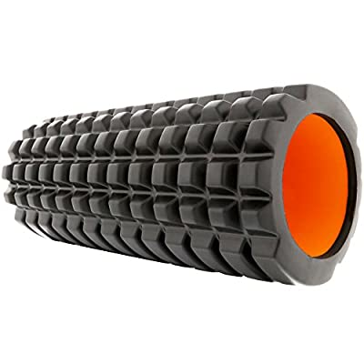 PharMeDoc Foam Roller for Muscle Massage - Soothing Therapeutic Comfort for Soreness- High Density Premium Quality - Immediate Relief for Back Pain - Deep Tissue Myofascial Release (13-Inch) by PharMeDoc
