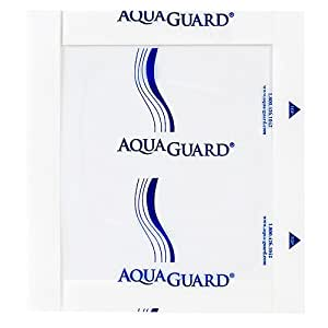 Aqua Guard Moisture Barrier, Latex Free, 7 X 7 5 ea