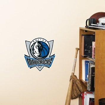 - 1 X Dallas Mavericks FATHEAD Team Logo NBA Official Vinyl Wall Graphic