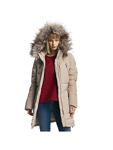Only Onlrhoda Down Coat Otw, Manteau Femme Beige