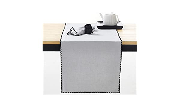 La Redoute Interieurs mesa LAUFER quotadrioquot, lino, algodón ...
