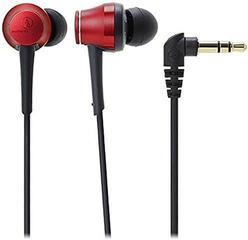 audio-technica イヤホン カナル型 ハイレゾ対応 レッド ATH-CKR70 RD