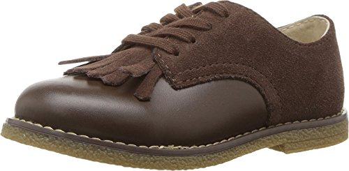 Marty Shoes (Footmates Child Marty Laceup Kiltie Oxford (Toddler/Little Kid) Chocolate)