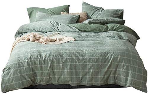 GEVJ Juego de sábanas de algodón Egipcio (4 Piezas) Juego de ...